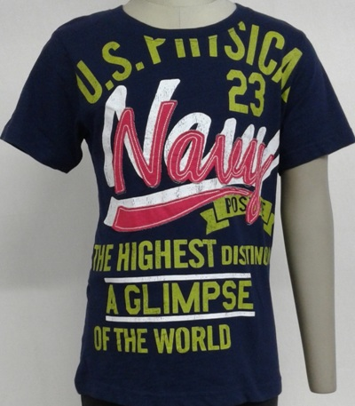 Kids R-neck printed T-shirt with print & embroidery